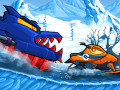 Игри Car Eats Car: Winter Adventure