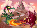 Игри Fairy Tale Dragons Memory